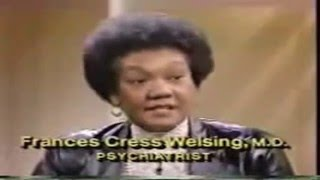 Frances Cress Welsing On The Phil Donahue Show HD