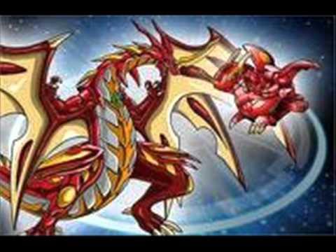 BAKUGAN evoluciones de Drago sus poderes y poder g loquendo hasta