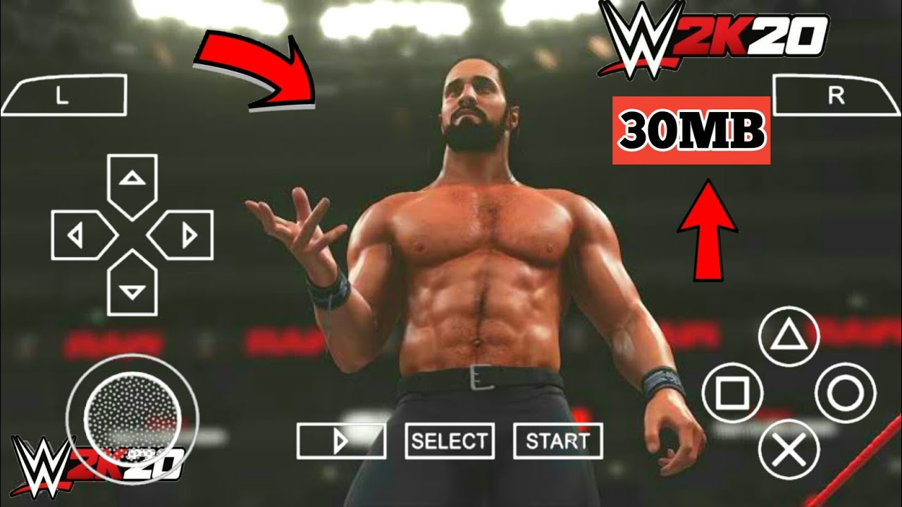 30mb How To Download Wwe 2k20 On Andorid Tna Impact Mod Hd Graphics Ps4 Game At Gaming Youtube
