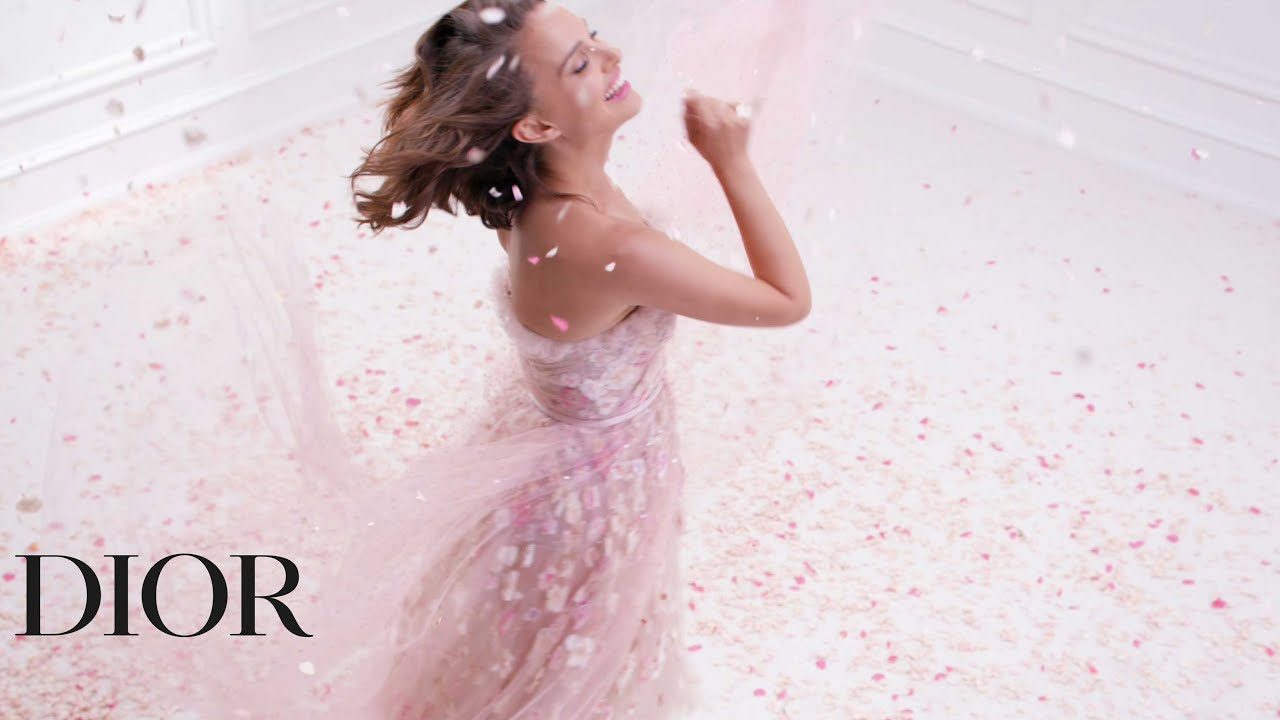 Natalie Portman for Miss Dior Rose N'Roses, the new fragrance