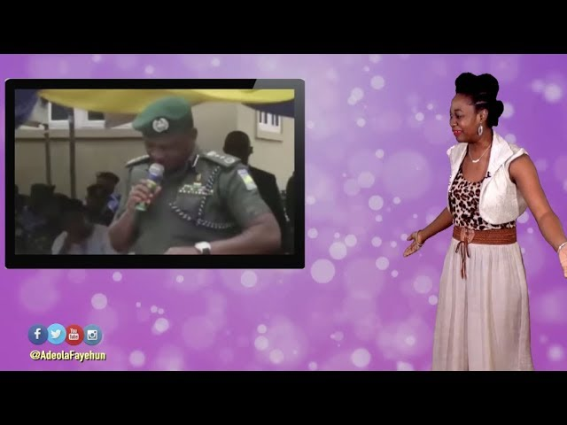 Nigerian IG Of Police Unable To Read; Kenyan Wedding Drama; How To Send Money To Nigeria For Free