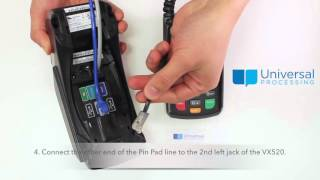VX520 Pin Pad Connection Instruction (English)