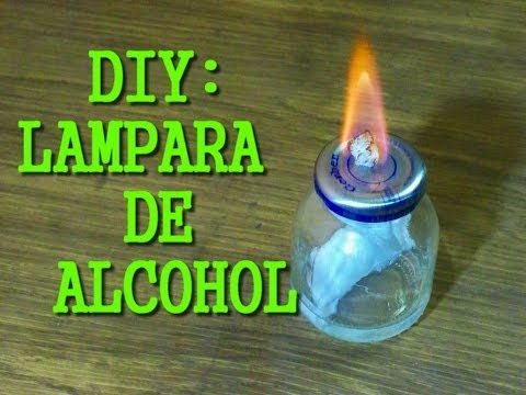 de alcoholYouTube una Como hacer lampara CBodexr