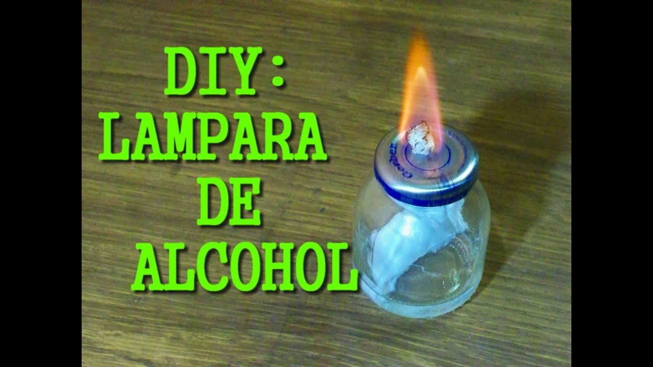 Como hacer una lampara de alcohol youtube - Como hacer una lampara ...