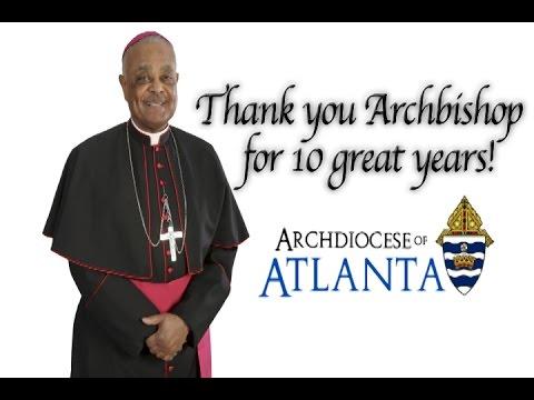 Happy Anniversary Archbishop Gregory!