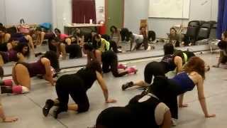 StripXpertease Twerking Class : BOOTY BOUNCE ALL 4