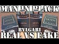 Fake fragrance - Man in Black by Bvlgari