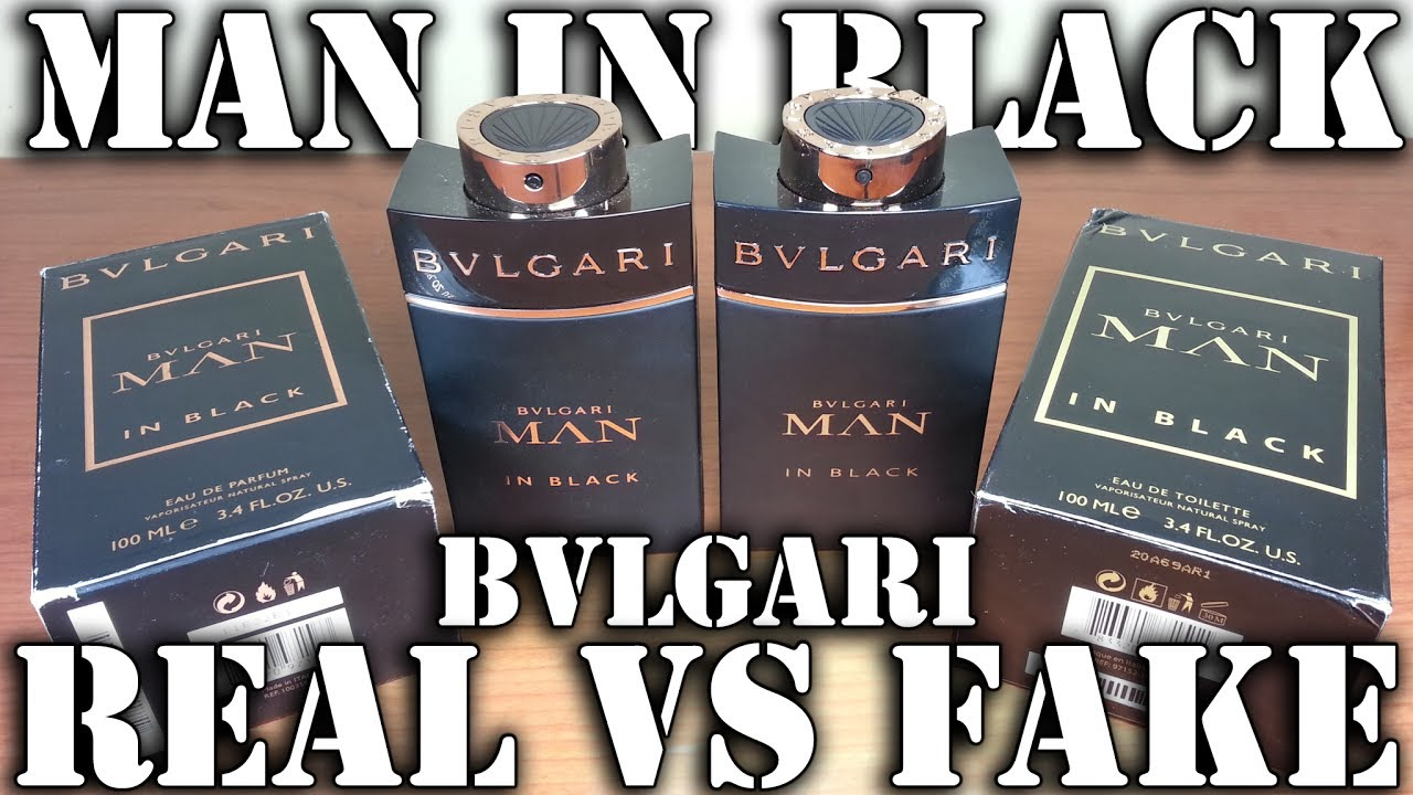 Fake Fragrance Man In Black By Bvlgari Youtube
