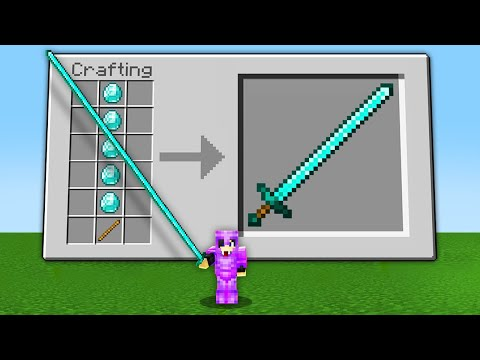 Minecraft, But Crafting Is Long…