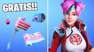 New SKINS, Peak and Camouflage *FREE* in Fortnite: battle royale!! Fortnite Birthday Challenges