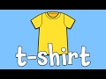 Clothes - Learning the Names of Clothes | Kids Learning Videos