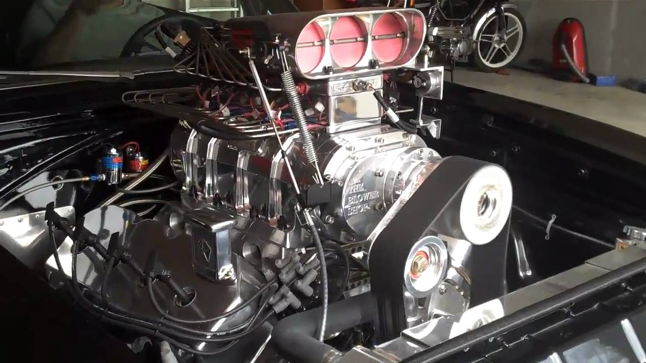 Fast and Furious Original Charger Engine working - YouTube