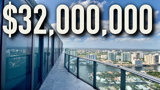 INSIDE THE MOST LUXURIOUS $32,000,000 OCEANFRONT PENTHOUSE FOR SALE! ROOFTOP POOL! MOVIE THEATRE!