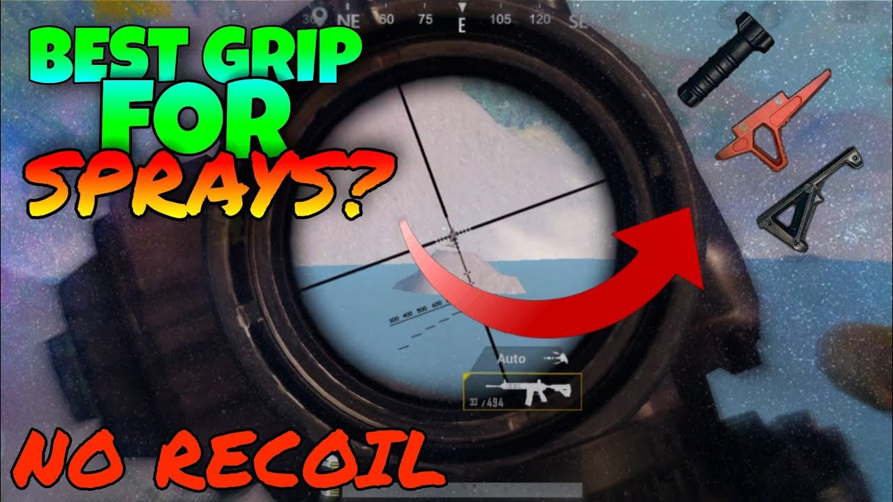 Full Guide On Grips In Pubg Mobile | How to Reduce Recoil In Pubg Mobile?