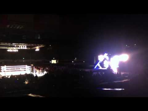 Smackdown house show intro - Cow Palace 2/11/12