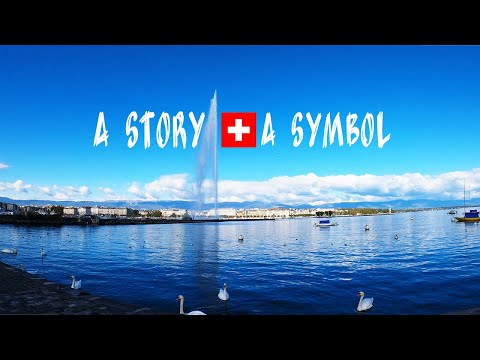 The Huge WATER FOUNTAIN on the Lake Geneva Switzerland 🇨🇭 Le Jet d'Eau(Water Jet) a symbol, a Story