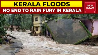 Kerala Floods: No End To Rain Fury In Kerala, Father & Son Caught In Floods