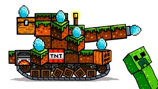 MINECRAFT TANK - Tanking Duck - World of Tanks Animation