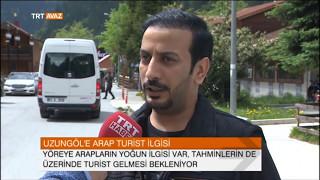 Arap Turistlere Trabzon Uzungöl'ü Sorduk - TRT Avaz Haber