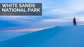White Sands National Park in New Mexico: Sledding & Hiking Alkali Flats in One Day