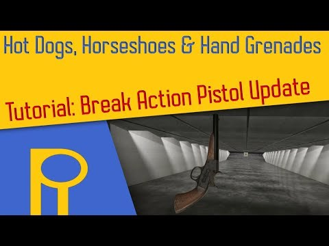Break Action Pistol Update - H3VR - Tutorial [Deutsch]