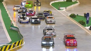 MEGA RC MODEL DRIFT CARS IN ACTION!! *REMOTE CONTROL DRIFT, RC NISSAN, RC TOYOTA