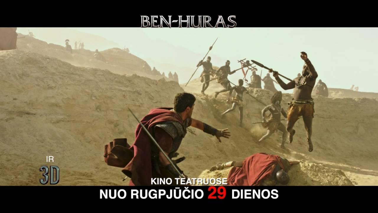 BEN-HURAS 2D ir 3D kinuose jau nuo rugpjūčio 26 d.