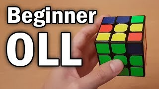 Rubik's Cube: Easy 2-Look OLL Tutorial (Beginner CFOP)