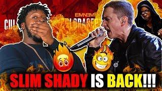 Eminem - Chloraseptic (REMIX!) ft. 2 Chainz & Phresher (REACTION!!!)