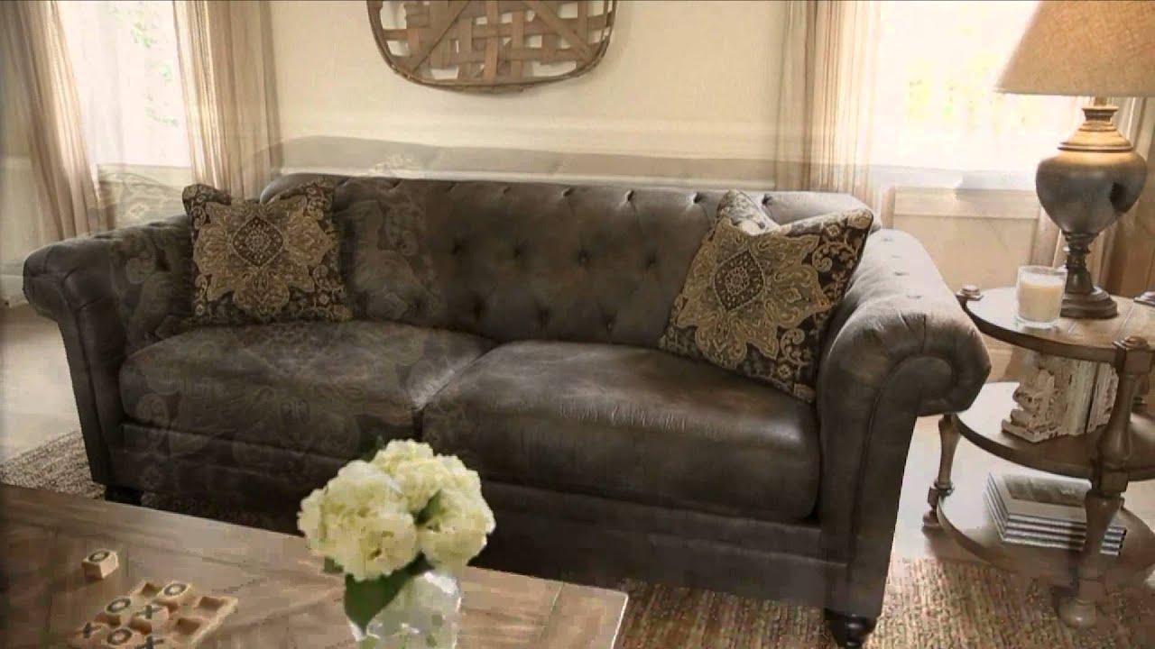 Ashley Furniture Homestore Hartigan Living Room Youtube