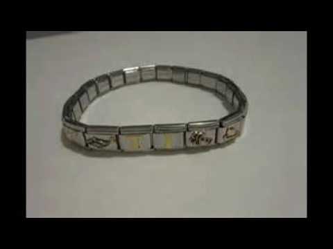 zoppini italian charm bracelet