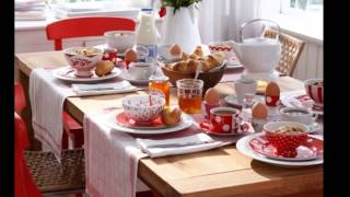 видео Сервировка стола к завтраку