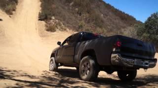Toyota Tacoma hill climb