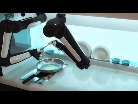 Robot zikora akazi gatangaje ku Isi zatunguye benshi