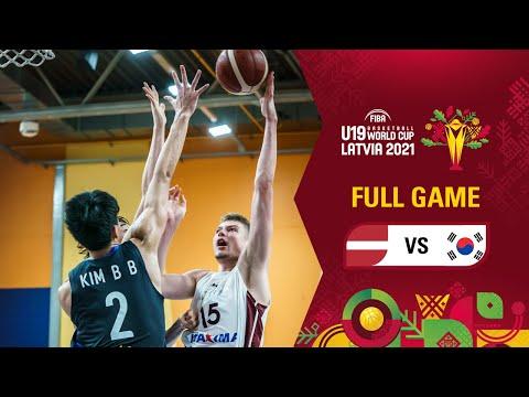 LIVE - Latvia v Korea | FIBA U19 Basketball World Cup 2021