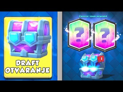 LEGENDARNE U DRAFT CHESTU · Clash Royale