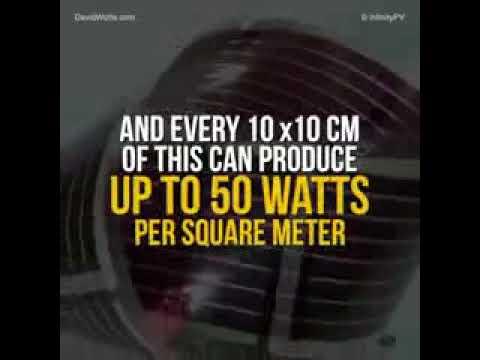 Thin Film Solar Panels  - Ultra Thin Solar Panel Can Bring Power To 1 3 Billion People