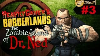 Borderlands-Zombie Island DLC Gameplay Walkthrough Part 3:Birds Eggs,Hank Reiss Echos (PC/HD/1080p)
