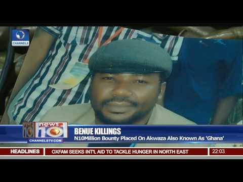 N10Million Bounty Placed On Akwaza Ghana Over Benue Killings