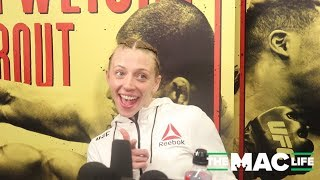 Emily Whitmire talks quick finish over Alexandra Albu and nerves ahead of UFC Phoenix