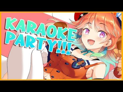 【KARAOKE PARTY!】gotta fulfill my duty as an idol! #kfp #キアライブ