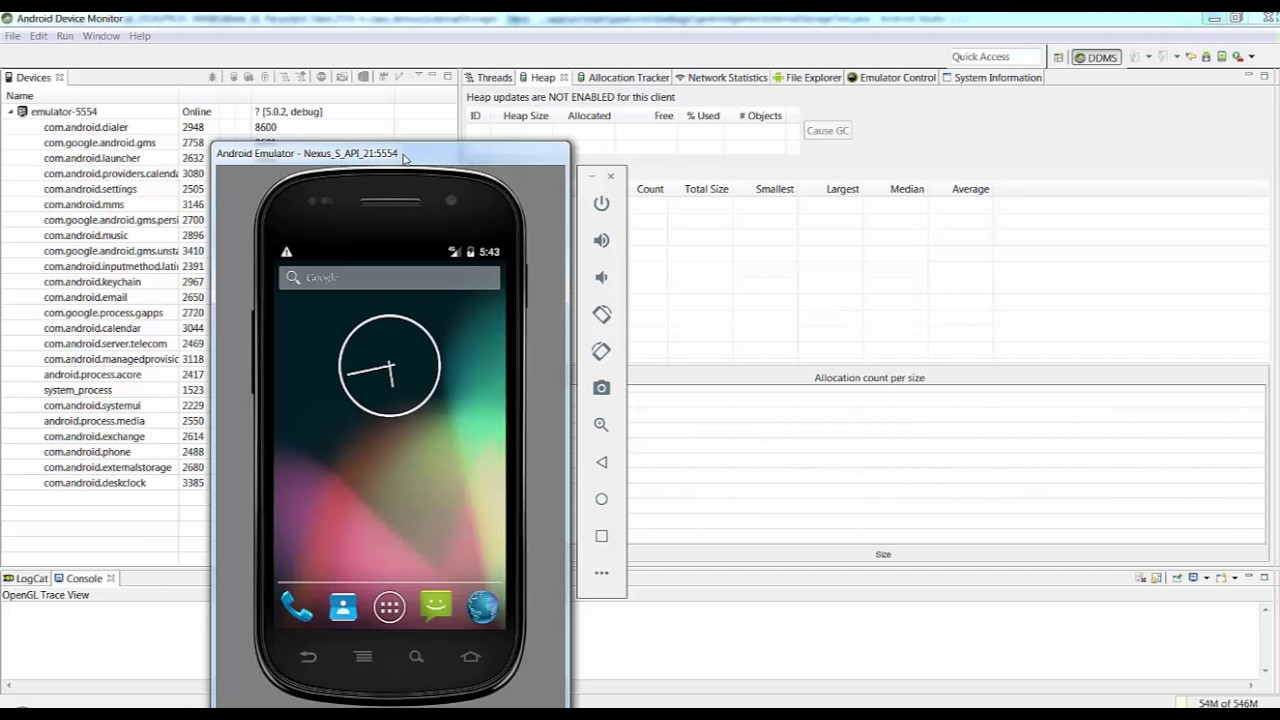 Spyware for Android Phone Emulator - You have a right to