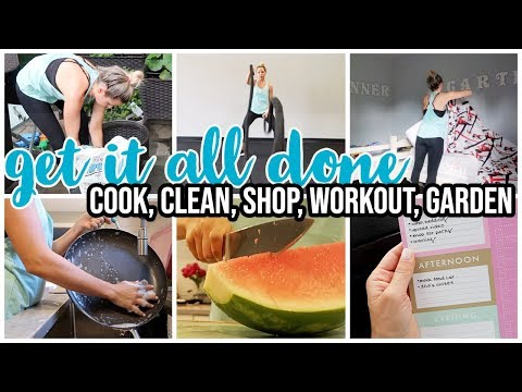 CLEAN WITH ME, COOK WITH ME, SHOP WITH ME, WORKOUT, GET IT ALL DONE // SUNDAYS AT TIFFANI'S