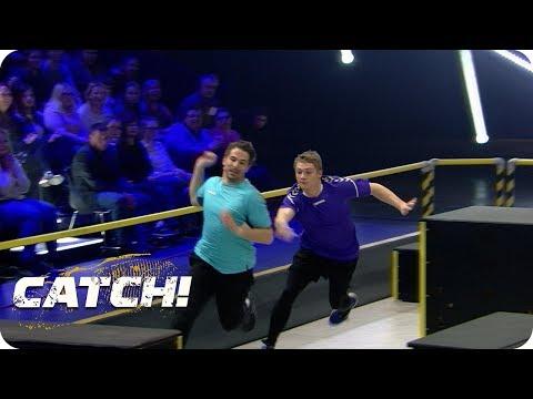 Obstacle Race | Match 4 Teil 1 | CATCH! Die deutsche Meisterschaft im Fangen