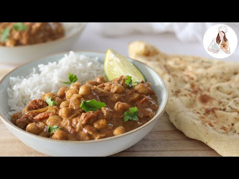 Coconut Chickpea Curry Recipe | Vegan Recipe
