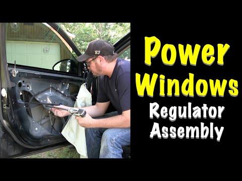 How To Fix Power Window – Regulator Assembly – 2013 Chevy Cruze