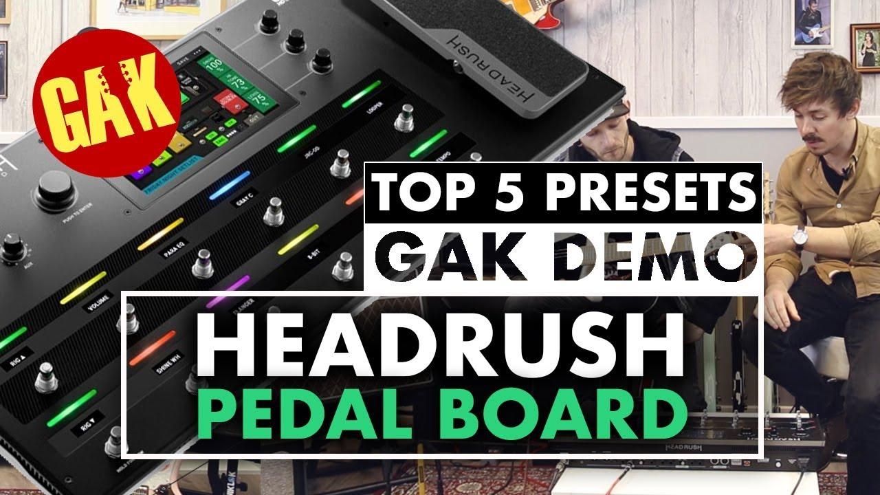 HeadRush Pedalboard Processor Pedal