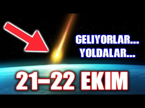 21-22 Ekim - Orionids Meteor Yağmuru !!!   Full HD [2017]