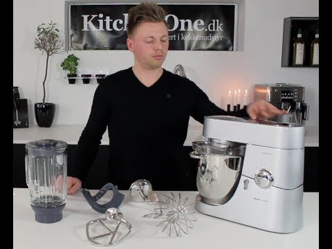 Kitchen Aid Food Processor Demonstrated