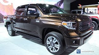 2018 Toyota Tundra Platinum - Exterior and Interior Walkaround - 2017 LA Auto Show